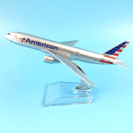 American Airlines Boeing 777  model aircraft - Enjoy Aviation - AVIATION gifts -keychains-free ebook how to become a pilot