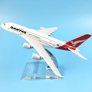 Australian Qantas A380 s Airplane Model