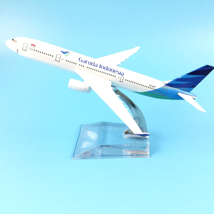 Air Garuda Indonesia Airlines Airbus 330 Plane Model - Enjoy Aviation - AVIATION gifts -keychains-free ebook how to become a pilot