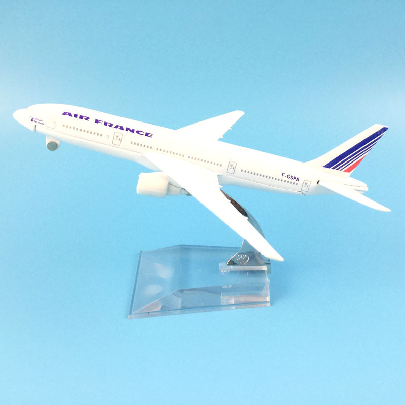 Air France Airlines Airbus A380 Plane Model
