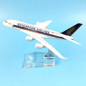Singapore Airlines  Airbus A380 Airplane Model