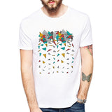 Funny paper airplane t-shirt