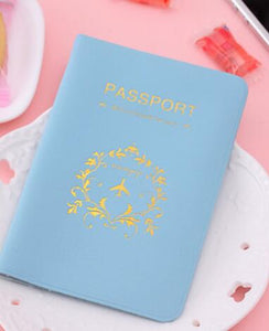 Elegant and Resistant Travel Passport Cover