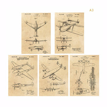 Load image into Gallery viewer, Vintage earlier airplane flying machine