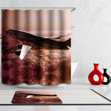 Load image into Gallery viewer, Airplane Vintage  Shower Curtain