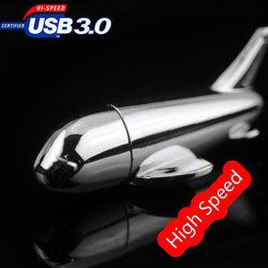 USB 3.0 Airplane Flash Drive Mini 8GB 16GB 32GB 64GB