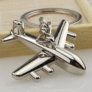JET Civil Aviation Air Plane Keychain