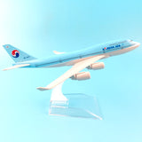 KOREAN AIR  BOEING B747 METAL Airplane Model