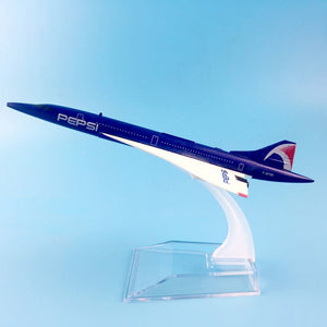 PEPSI AIRWAYS  CONCORDE Airplane Model