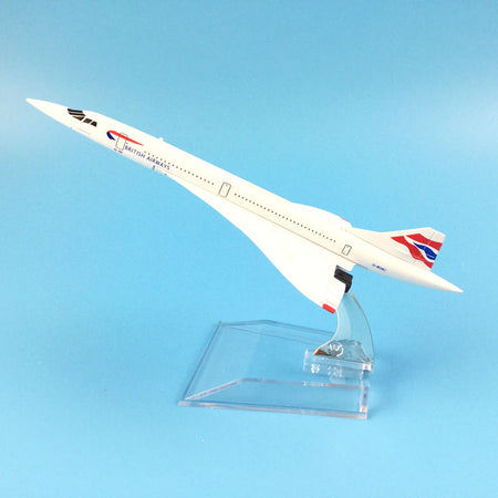 BRITISH AIRWAYS CONCORDE Airplane Model