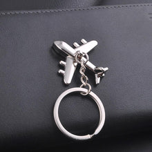 Load image into Gallery viewer, JET Civil Aviation Air Plane Keychain