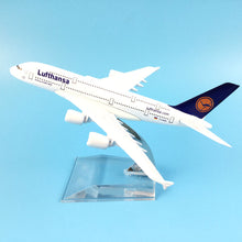 Load image into Gallery viewer, Lufthansa A380  Airplane model