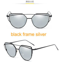 Load image into Gallery viewer, Flat Lense Cat Eye Sunglasses