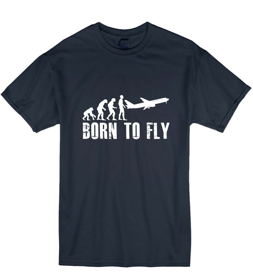 Born To Fly Plane T-Shirt