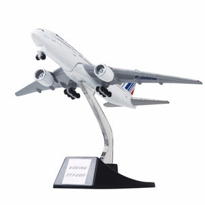 Aircraft Plane Model Air France B777 - Enjoy Aviation - AVIATION gifts -keychains-free ebook how to become a pilot