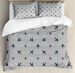 Airplane Duvet Cover Set