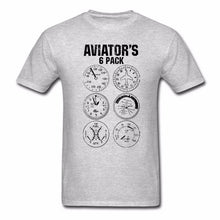 Load image into Gallery viewer, Aviator Six Pack T Shirt