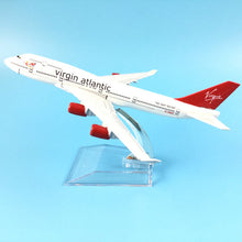 Load image into Gallery viewer, VIRGIN ATLANTIC  AIRCRAFT MODEL