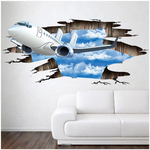 3D  Wall Sticker - Enjoy Aviation - AVIATION gifts -keychains-free ebook how to become a pilot