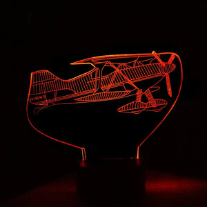 Airplane 3D  LED Lamp
