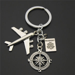 No Matter Where Keychain