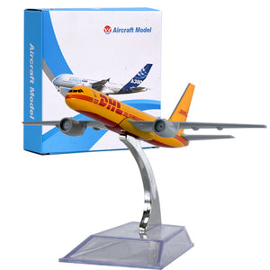 DHL Mini Airplane Model