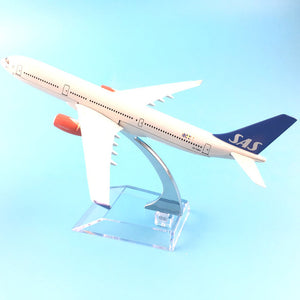 SCANDINAVIAN A330 Airplane Model