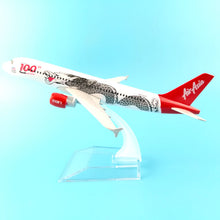 Load image into Gallery viewer, Air Asia Plane Model Airbus A320