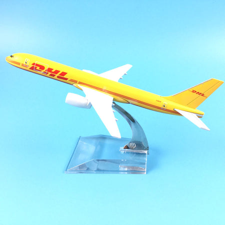 DHL Express Delivery Aircraft Boeing 757-200  Plane Model