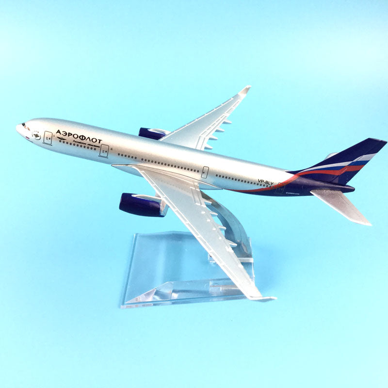 AEROFLOT  A330 Airplane Model - Enjoy Aviation - AVIATION gifts -keychains-free ebook how to become a pilot