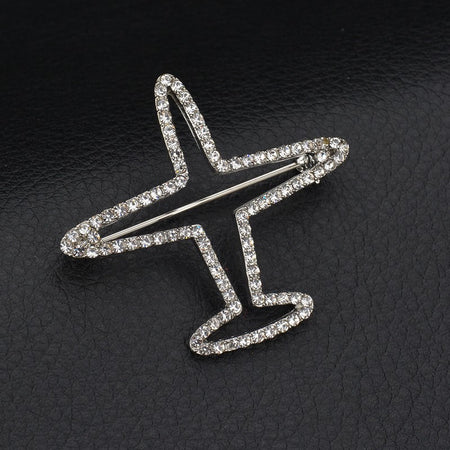 Airplane Brooch - Enjoy Aviation - AVIATION gifts -keychains-free ebook how to become a pilot