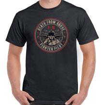 Load image into Gallery viewer, Death From Above Mens F-16 Pilot T-Shirt