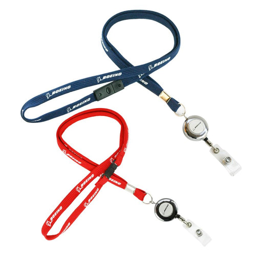 Boeing Airlines Lanyard  787 with Easy Pull Buckle