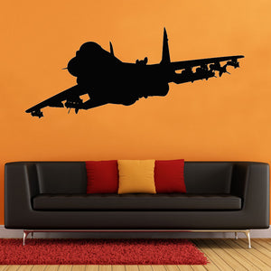 Jet Airplane Wall Sticker