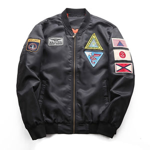 Air Force Flight Jacket - Enjoy Aviation - AVIATION gifts -keychains-free ebook how to become a pilot