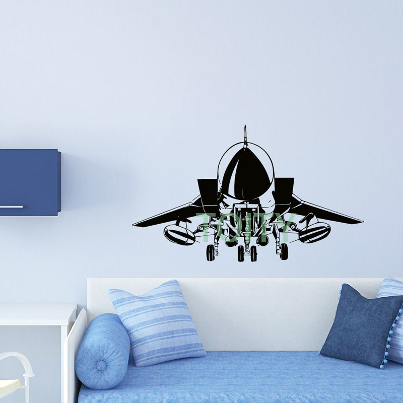 Airplane Wall Sticker US Air Force - Enjoy Aviation - AVIATION gifts -keychains-free ebook how to become a pilot