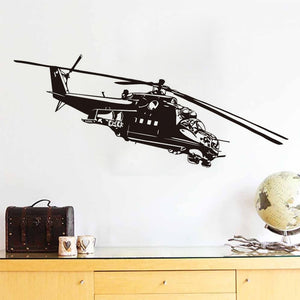 Helicopter Wall Stickers