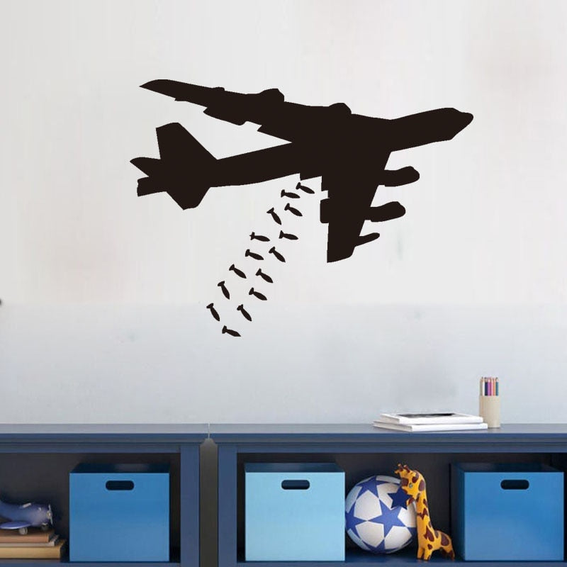 Bomber Wall Stickers