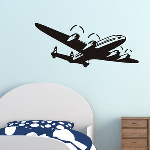 Funny Airplane Wall Sticker
