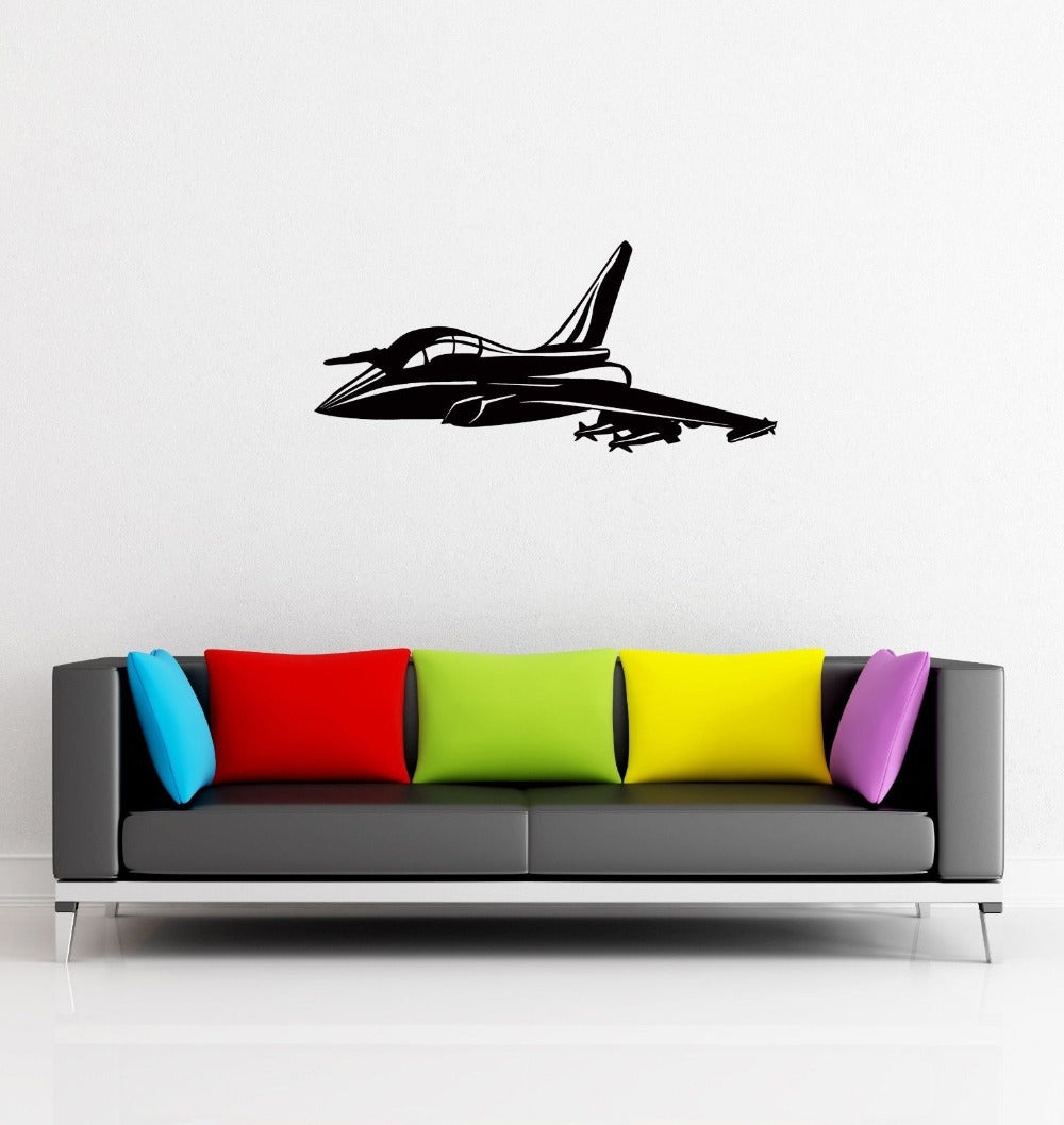 Wall Sticker Jet Airplane Air force