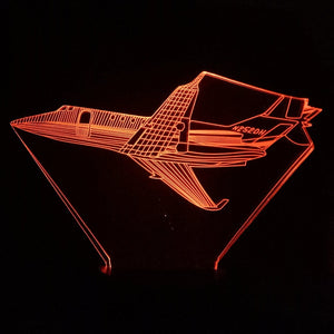 JET Airplane 3D LED Lamp