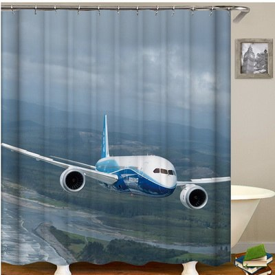 7 Airplanes shower curtain - Enjoy Aviation - AVIATION gifts -keychains-free ebook how to become a pilot