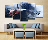 HD Multi Panels Modern Military Canvas