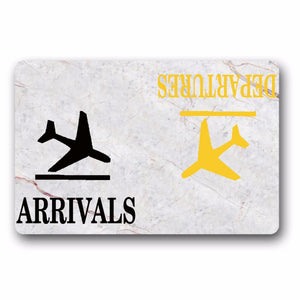 Arrivals Departures DoorMat - Enjoy Aviation - AVIATION gifts -keychains-free ebook how to become a pilot