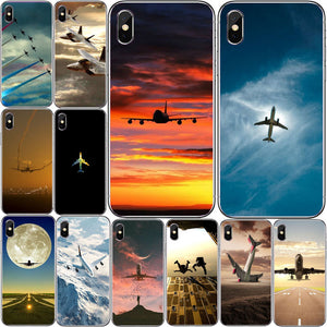 Airplane iPhone 8 7 6 Plus X 5 4 Soft
