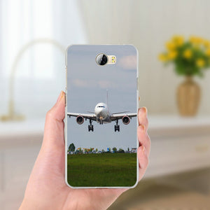 Huawei Airplane Phone Cases for Huawei P8 P9 P10 Lite Mate 10 Pro Y5 Y6 Y3 II Y7 Honor 6X 7X 9 Lite Soft Silicone