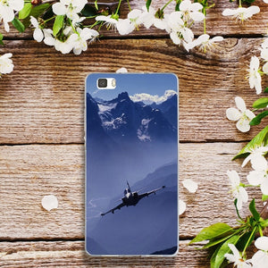 Huawei Airplane At The Sunrise for Huawei P8 P9 P10 P20 P30 Y5 Y6 II Y7 Honor 6X 9 Mate 10 Pro Lite