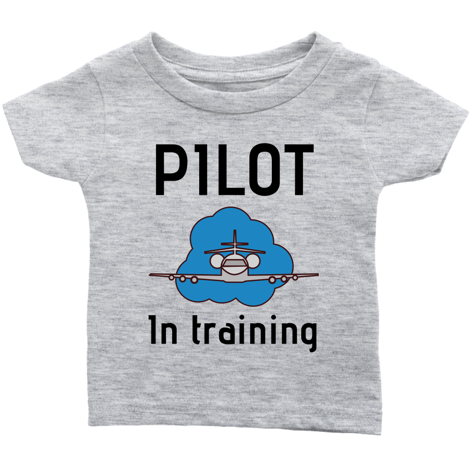 PILOT IN TRAINING BODYSUIT , THSIRT