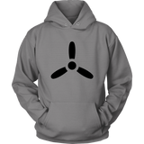AIRPLANE PROPELLER Tees, Long Sleeves, and Hoodies