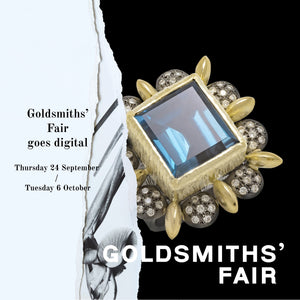 Goldsmiths' Fair goes digital | Find us there